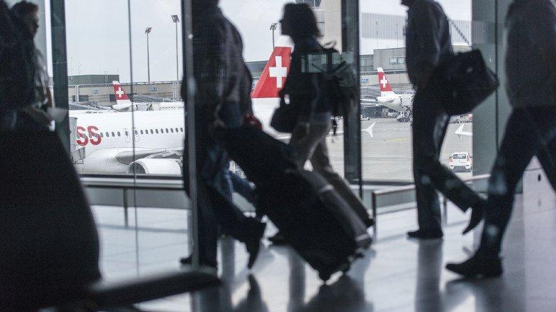 Transport aérien: fréquentation record en 2017 pour l'aéroport de Zurich