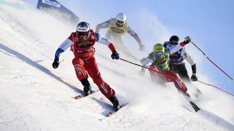 Skicross: les Suisses Alex Fiva et Marc Bischofberger signent un doublé à Idre