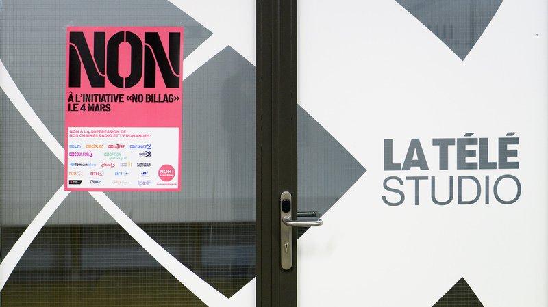 """""""No Billag"""": une majorité des Suisses rejetteraient l'initiative"""