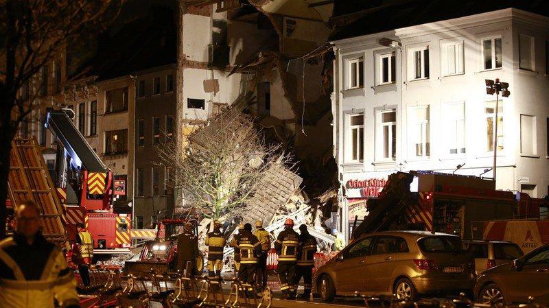 Belgique: deux corps retrouvés après l'explosion à Anvers