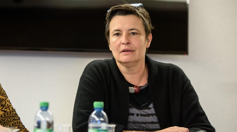 La Municipalité de Nyon (ici la municipale Stéphanie Schmutz) avait refusé de publier les questions de la naturalisation.