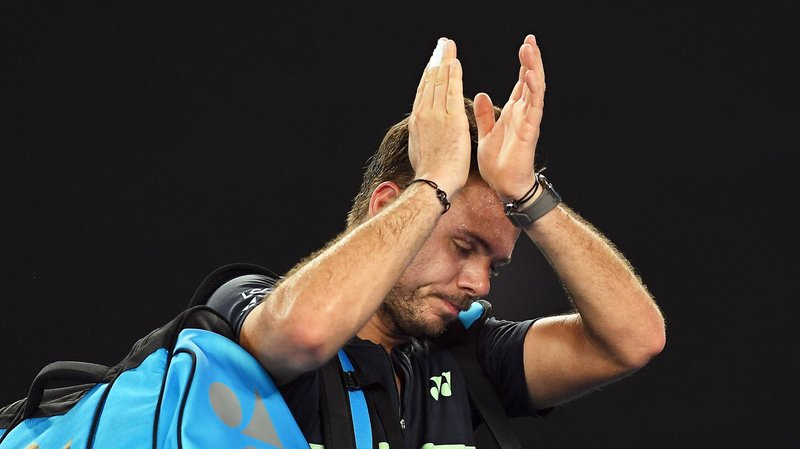 Tennis: pas de retour gagnant pour Stan Wawrinka battu au premier tour à Rome