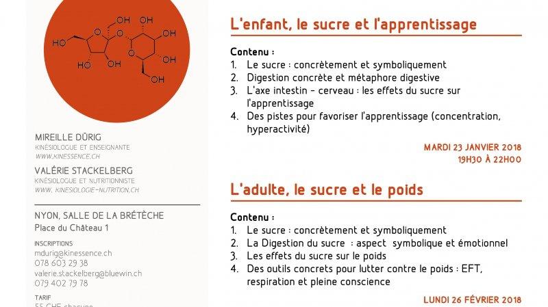L'enfant, le sucre et l'apprentissage
