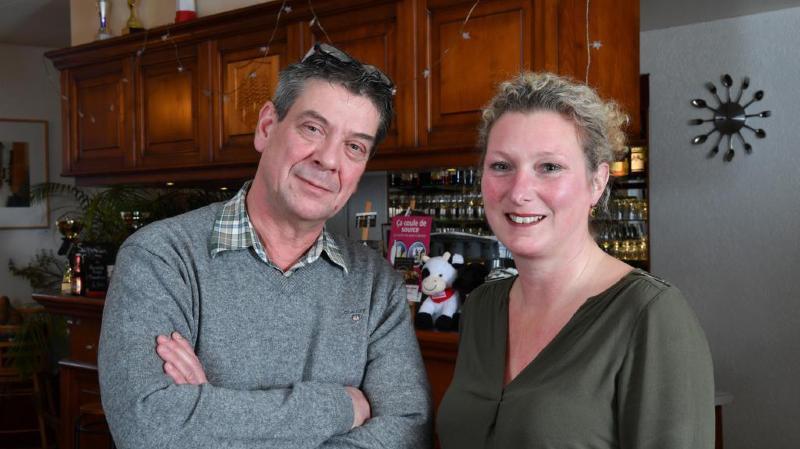 Alain Torrens et Sandra Lapalud aiment le contact avec la clientèle. Le couple sera à l'écoute de sa future clientèle de l'auberge.