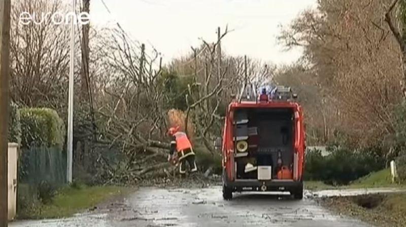 La tempête Carmen quitte la France, fin de la vigilance orange