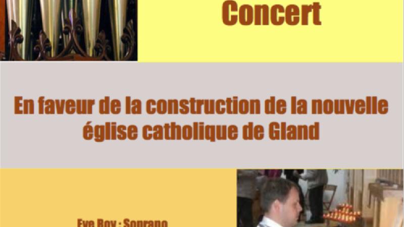 Concert église de la Colombière