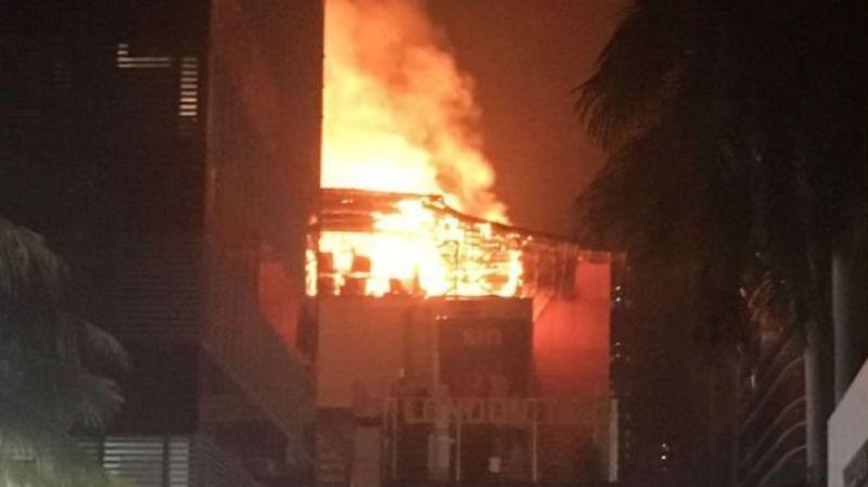 Inde: au moins 14 personnes ont perdu la vie dans l'incendie d'un bâtiment commercial de Bombay