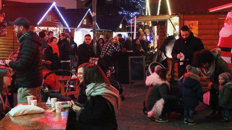 Nyon: Bilan positif pour le deuxième marché de Noël