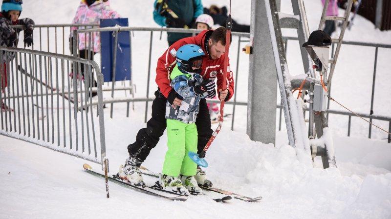 La neige fera des heureux sur les pistes pendant le week-end du Nouvel An