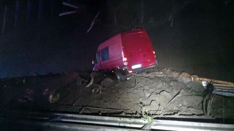 Coulée de boue sur l'A2: le tunnel du Gothard sera fermé jusqu'à 19 heures