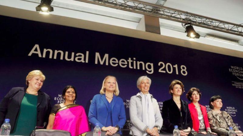 Coprésidence: sept femmes à l'honneur du WEF