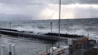 Météo: la tempête Evi crée des perturbations dans les transports, mais peu de dégâts
