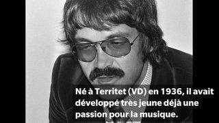 Le fondateur du Montreux Jazz Claude Nobs est décédé il y a cinq ans