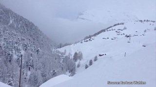 Les hauts de Zermatt sous deux mètres de neige