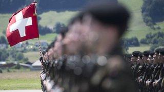 Armée: quelque 10'200 soldats débutent l'école de recrue 2.0 ce lundi