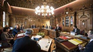 Conseil fédéral: les Suisses jugent le travail du gouvernement insatisfaisant