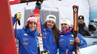 Ski alpin: triplé historique pour l'Italie lors de la descente de Bad Kleinkirchheim