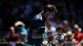 Open d'Australie: le genou a tenu! Stan Wawrinka rassure et vient à bout du Lituanien Berankis en 4 sets
