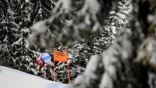 Ski alpin: les seconds couteaux dominent le dernier entraînement à Kitzbühel