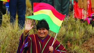 Evo Morales face à la pression de la rue