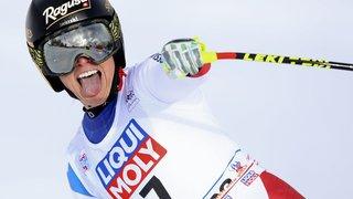 Lara Gut regoûte  à la victoire à Cortina