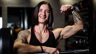 Céline Richard, bodybuildeuse musclée au naturel
