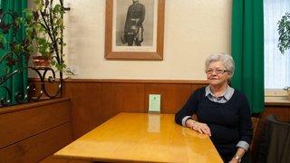 Denise Borcard quittera samedi son Café Vaudois pour son ultime voyage