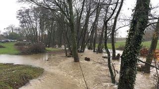 Les intempéries provoquent des inondations sur La Côte