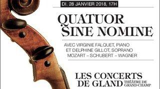 Théâtre de Grand-Champ - Quatuor Sine Nomine