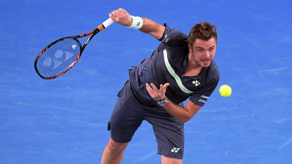 Tennis: Wawrinka se qualifie pour les demi-finales à Sofia