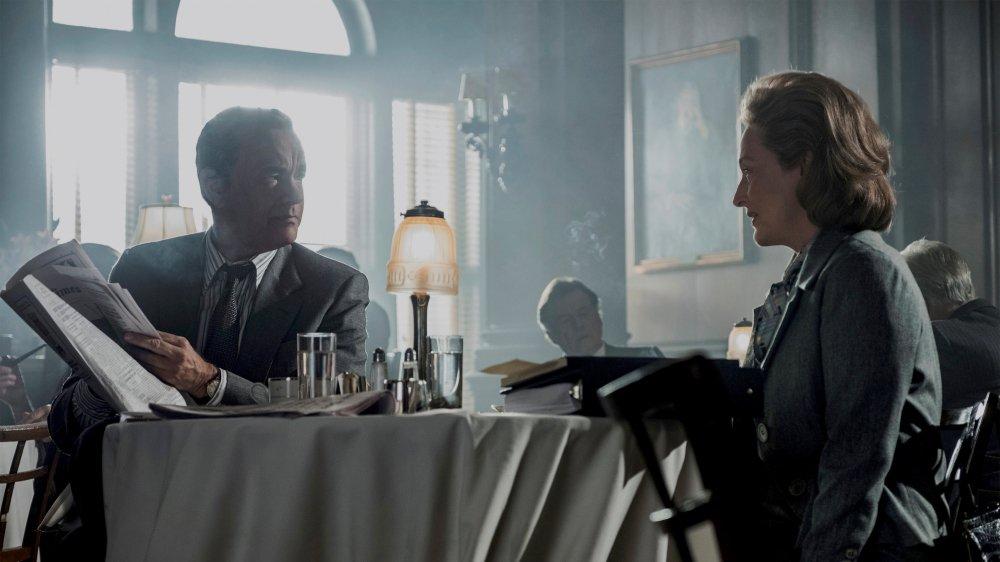 Ben Bradlee (Tom Hanks) et Katharine Graham (Meryl Streep) font avancer la presse.