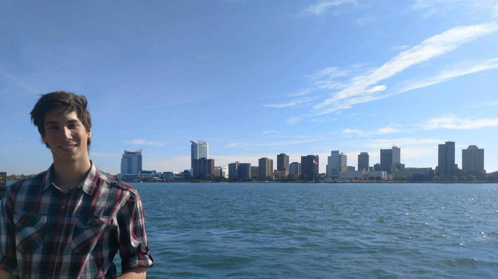 Loïc Oberson a posé ses valises pour six mois aux Etats-Unis, où il poursuit ses études.