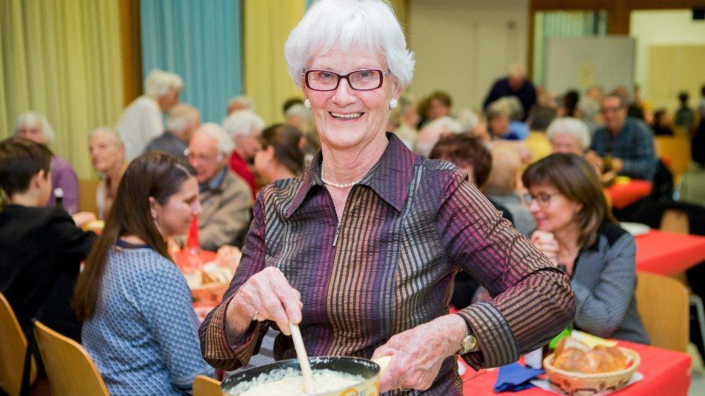 Danielle Ernst, 80 ans, est toujours aux commandes de l'association.