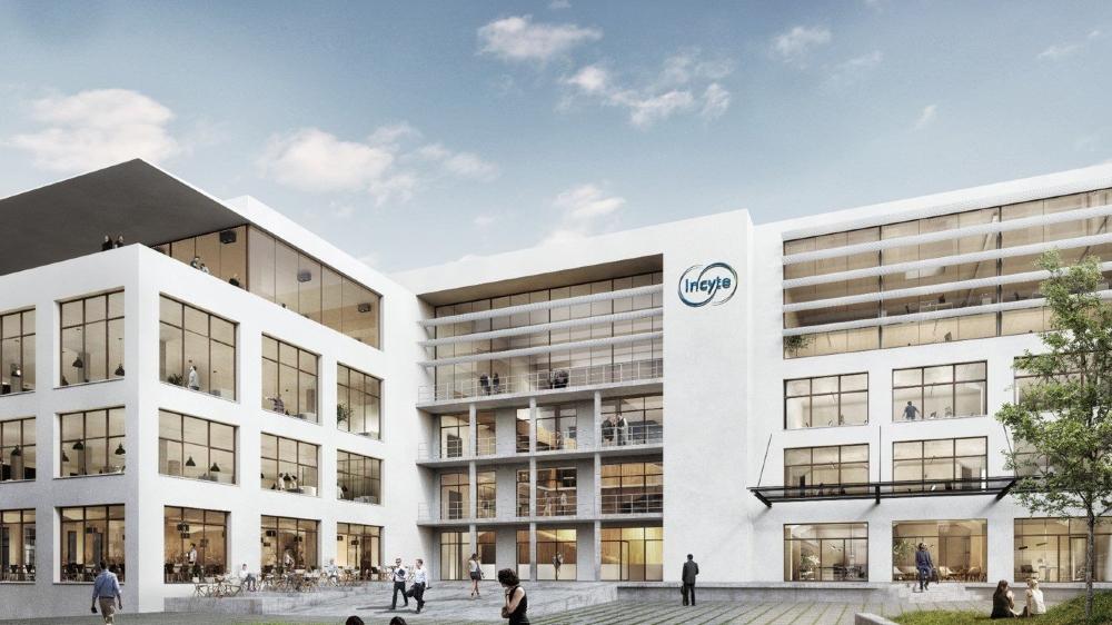 Voici un exemple type des bâtiments créés par Incyte. La société explique qu'elle modernisera le bâtiment actuel morgien, sans le démolir.