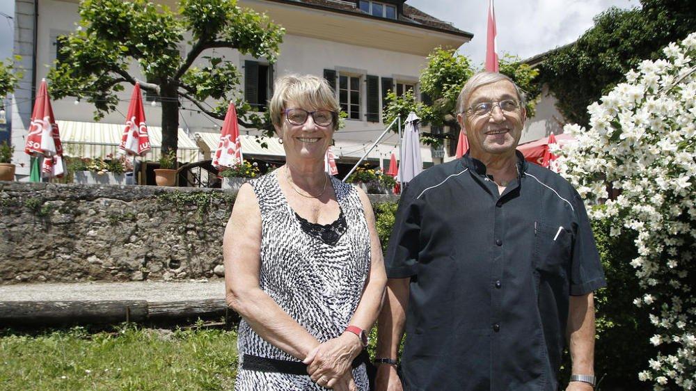 Jacqueline et Claude Chambaz avaient fêté leurs trois décennies à l'auberge de la Croix-Blanche en 2016. Au bénéfice d'une prolongation de bail de deux ans, ils prendront leur retraite à fin septembre.