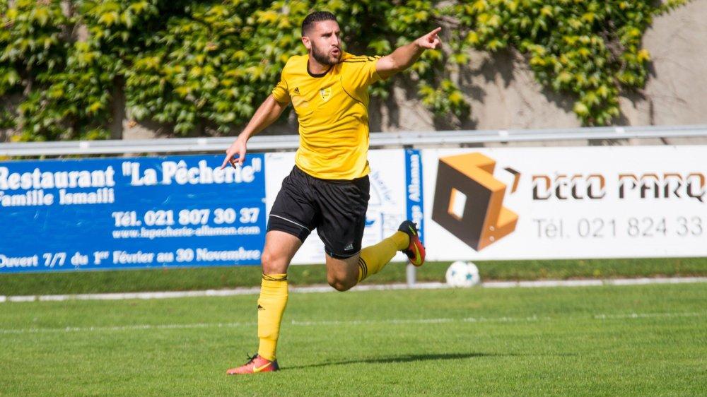 Karim Chentouf a inscrit le but nyonnais face à Servette