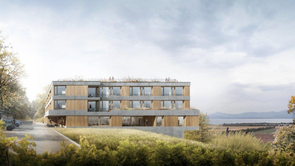 Le nouvel EMS est projeté d'être construit sous l'hôpital actuel.