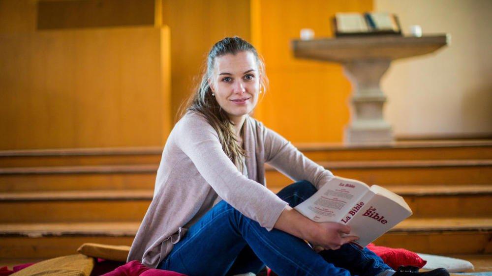 Noémie Steffen s'est intégrée en douceur au sein de la paroisse de la vallée de Joux