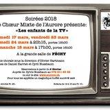 """Soirées annuelles L'Aurore """"Les enfants de la TV"""""""
