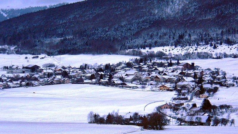 L'accident s'est produit vendredi dans la commune de Lamboing sur le Plateau de Diesse.