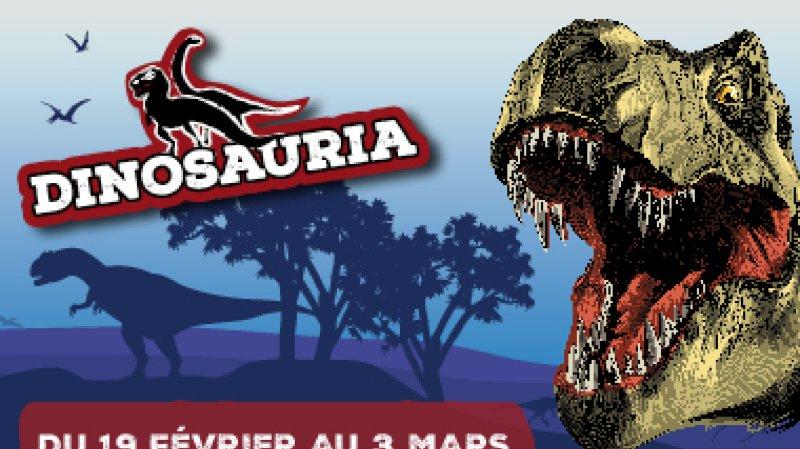 Dinosauria, exposition de dinosaures XXL