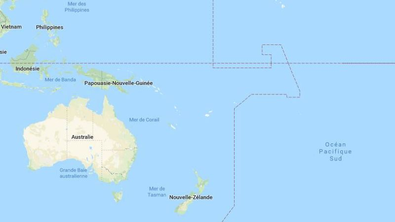 Un ferry transportant 50 personnes porté disparu dans le Pacifique