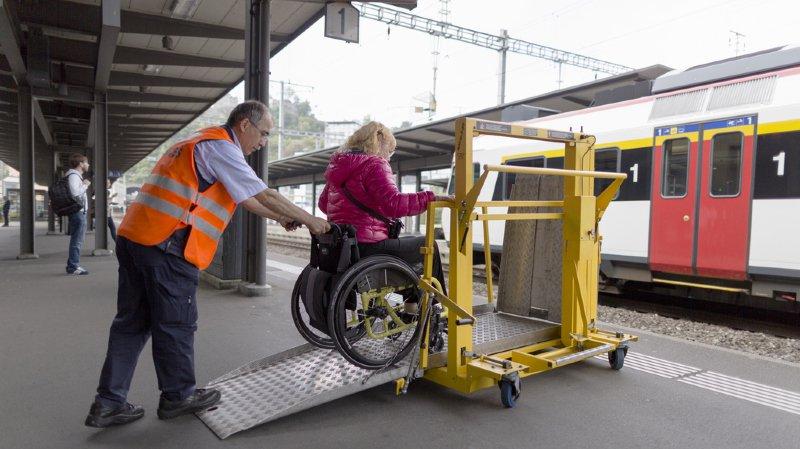 CFF: les nouveaux trains à deux étages ne sont pas adaptés aux handicapés