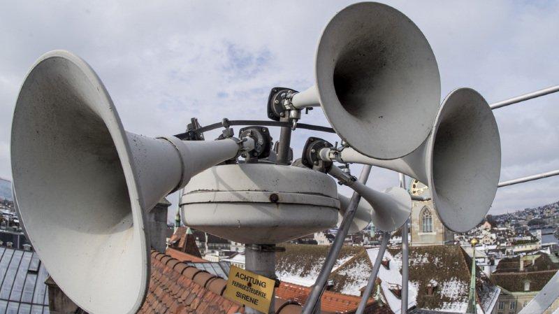 Le traditionnel test national des sirènes d'alarme aura lieu ce mercredi à 13 h 30