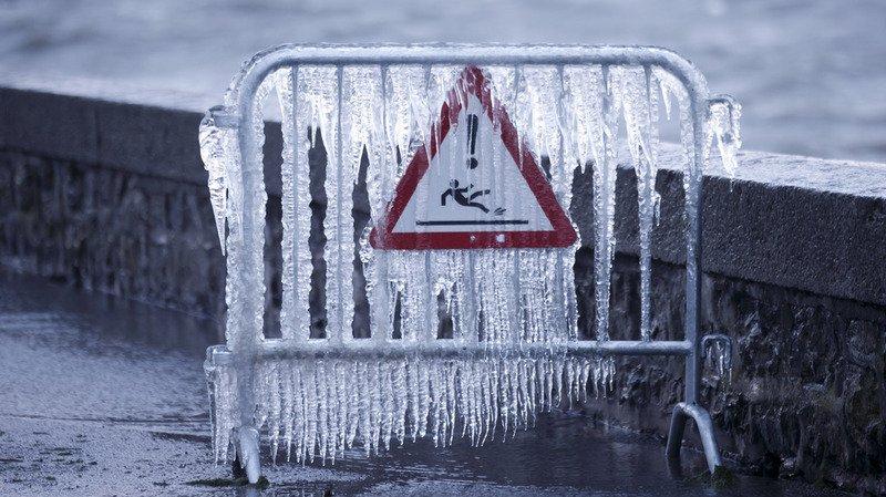 Météo: les températures les plus froides de l'hiver arrivent en Suisse
