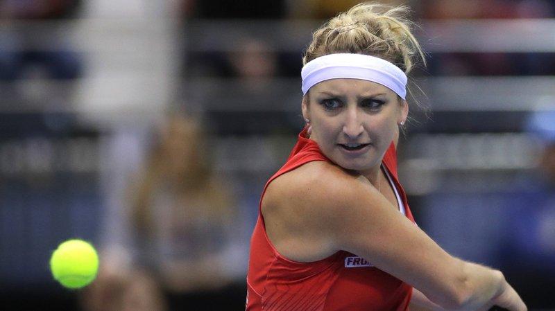 Tennis: pas de retour gagnant pour Timea Bacsinszky à Saint-Pétersbourg