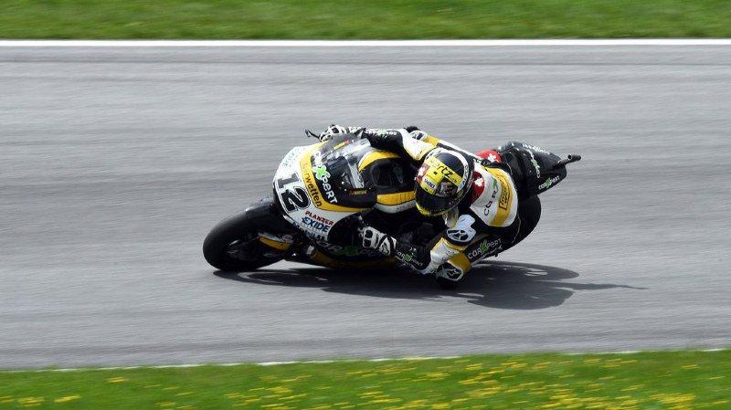 MotoGP:une première chute pour Tom Lüthi lors de la dernière journée de tests à Sepang