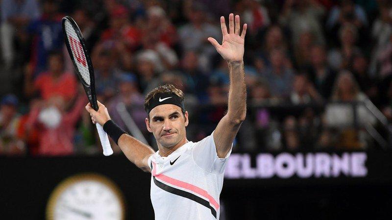 """Open d'Australie: """"J'étais nerveux"""", confie Federer après sa victoire en quarts de finale"""