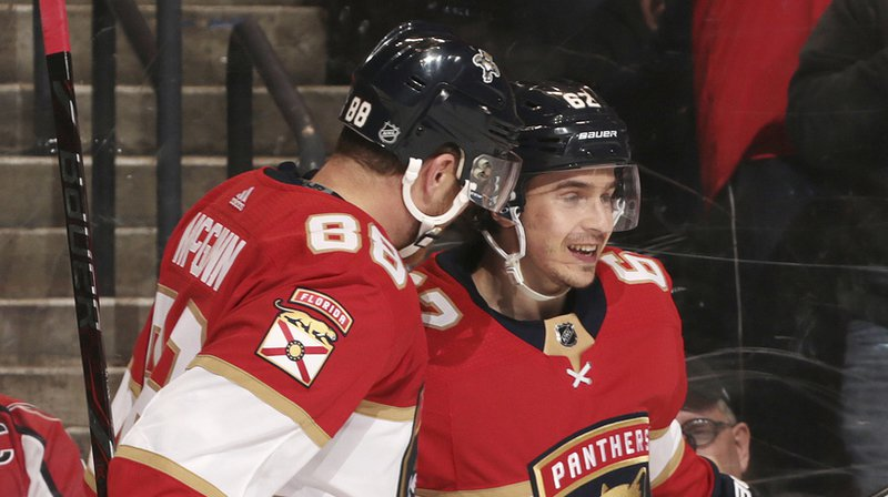NHL: le Soleurois Denis Malgin marque les deux buts de son équipe