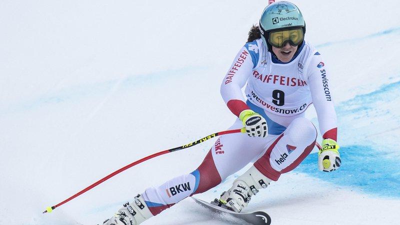 Ski alpin: Lindsey Vonn en tête après le super-G au combiné de Lenzerheide, Holdener 4e